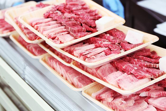 吉清の安心安全のこだわりの肉